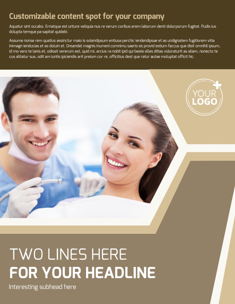 Dental Clinic Flyer Template Preview 2