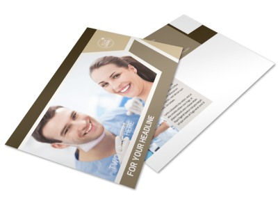 Orthodontist Postcard Template