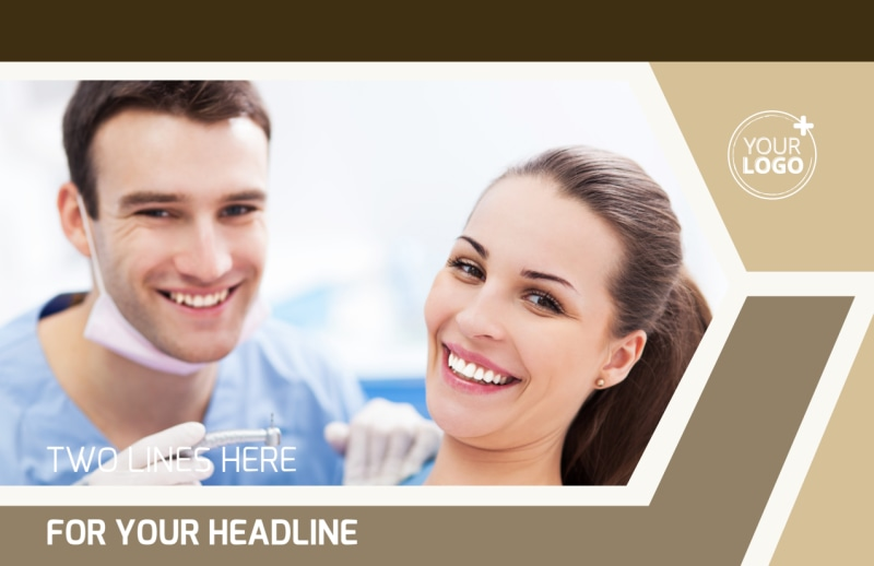 Dental Clinic Postcard Template Preview 2
