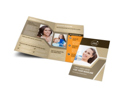 Orthodontist Brochure Template