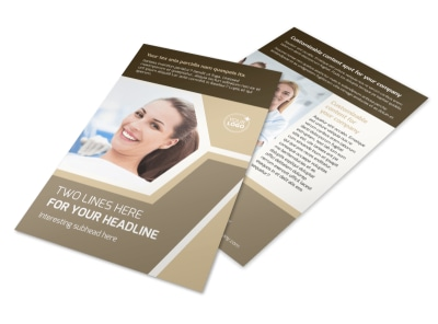 Orthodontist Flyer Template 3