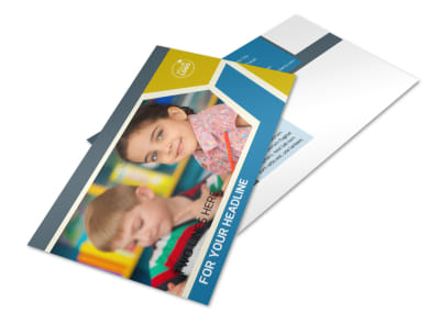 Child Development Postcard Template 2