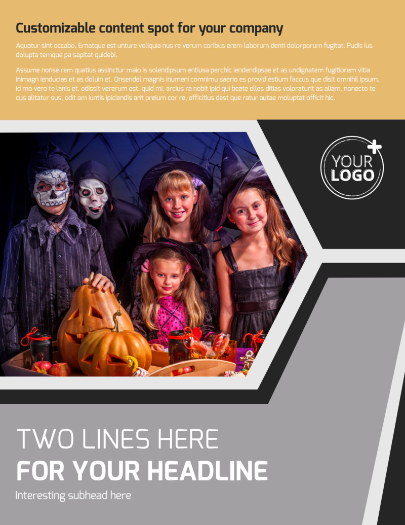 Halloween Party Flyer Template Preview 2