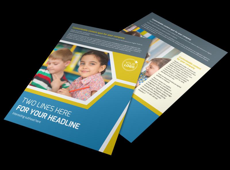 Child Development Flyer Template Preview 1