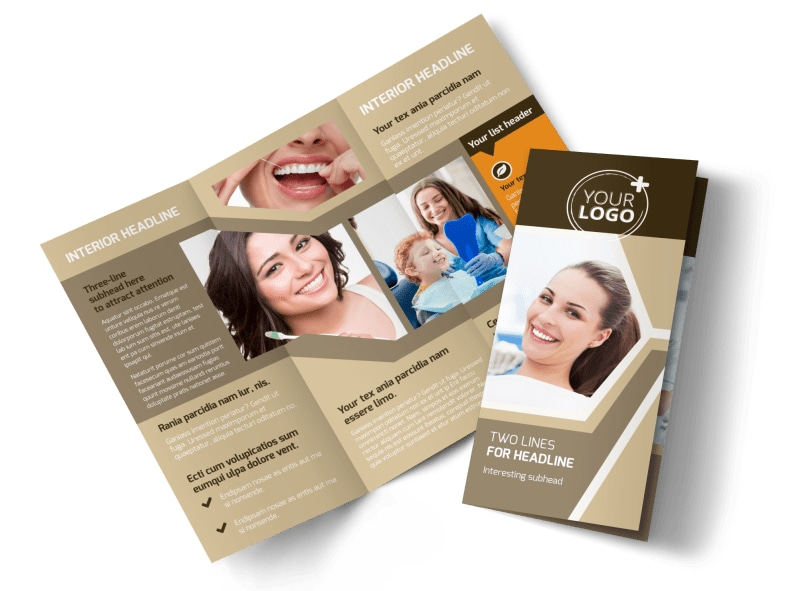 Dental Clinic Brochure Template Preview 4