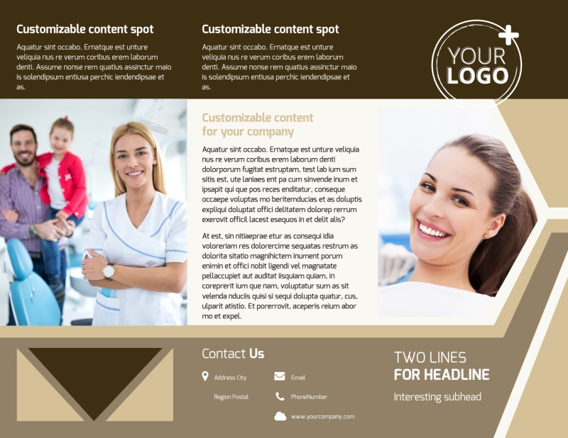 Dental Clinic Brochure Template Preview 2