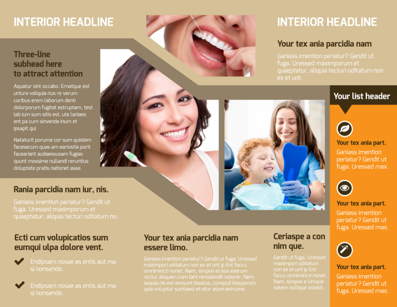 Dental Clinic Brochure Template Preview 3