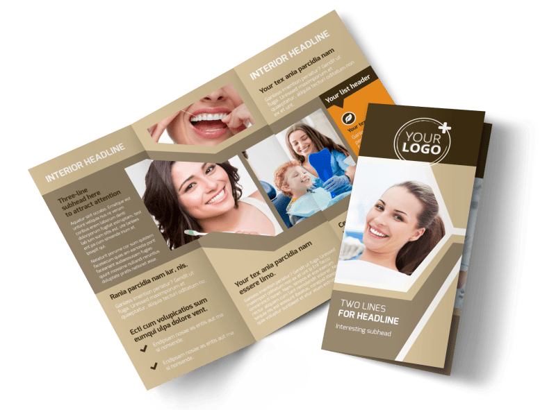 Dental Clinic Brochure Template Preview 1