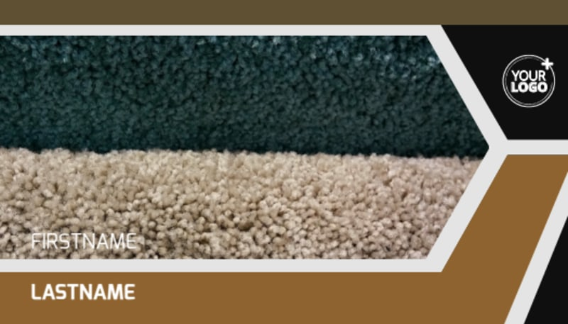 Carpet & Flooring Business Card Template Preview 2