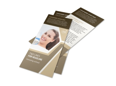 Orthodontist Flyer Template 2