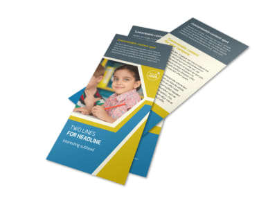 Child Development Flyer Template 2