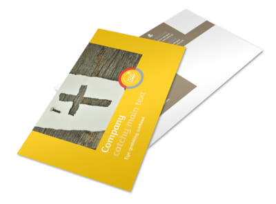 Church Ministry & Youth Group Postcard Template 2