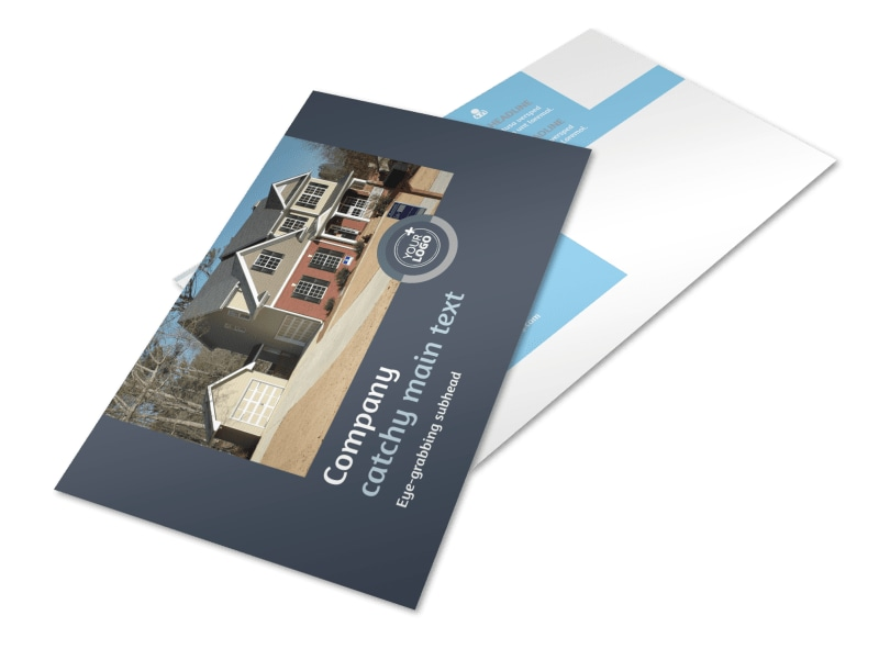 Residential Real Estate Agent Postcard Template 2