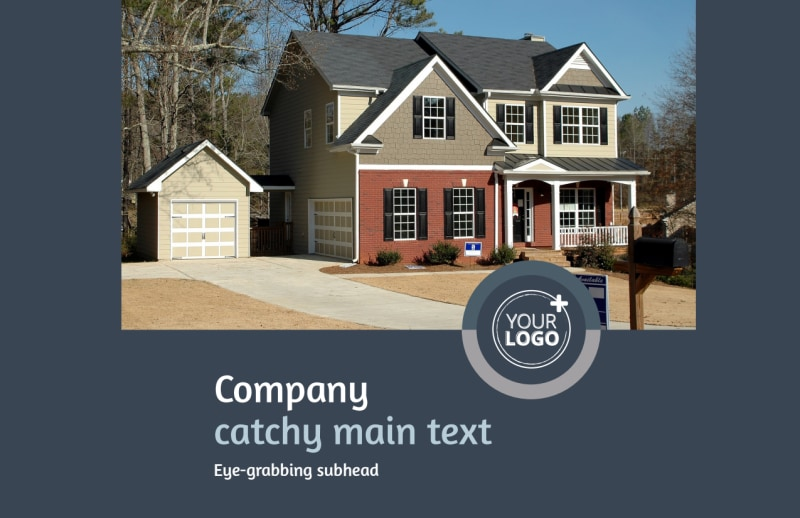 Residential Real Estate Agent Postcard Template Preview 2