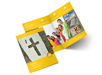 Church Ministry & Youth Group Brochure Template 2 preview