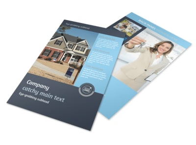 Residential Real Estate Agent Flyer Template 3