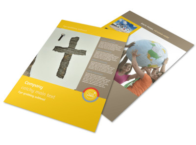 Church Ministry & Youth Group Flyer Template preview