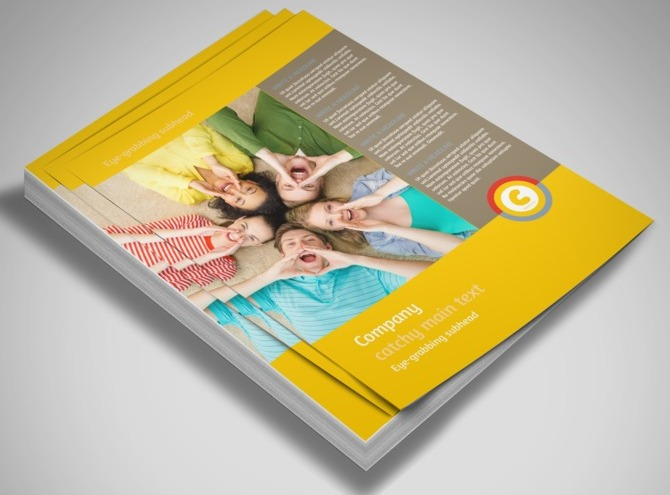 Church Ministry & Youth Group Flyer Template