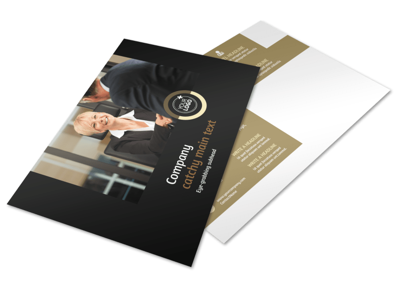 Insurance Defense Law Firm Postcard Template Preview 1