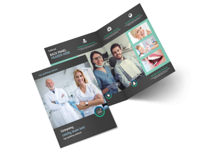 Elite Dental School Bi-Fold Brochure Template 2