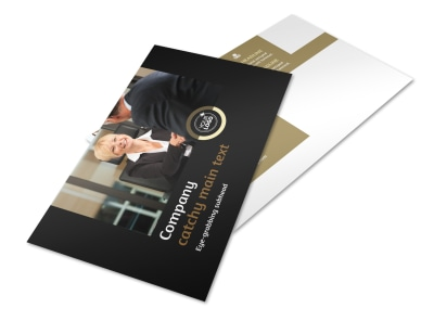 Insurance Defense Law Firm Postcard Template 2 preview