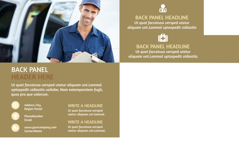 Carpet Cleaning Service Postcard Template Preview 3