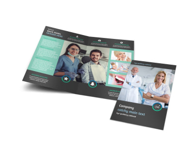 Elite Dental School Brochure Template MyCreativeShop - School brochure templates