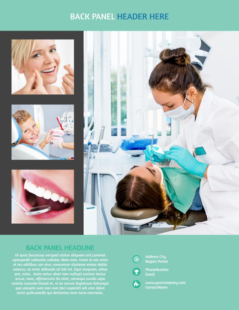 Elite Dental School Flyer Template Preview 3