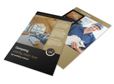 Carpet Cleaning Service Flyer Template 3