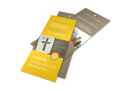 Church Ministry & Youth Group Rack Card Template 2 preview