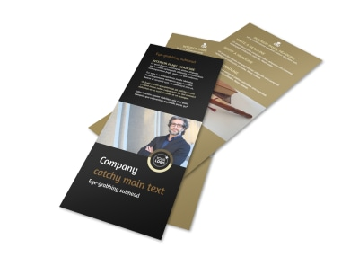 Insurance Defense Law Firm Flyer Template 2