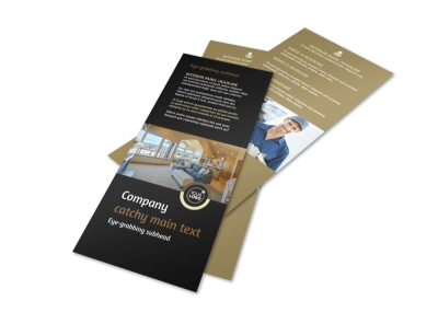 Carpet Cleaning Service Flyer Template 2 preview
