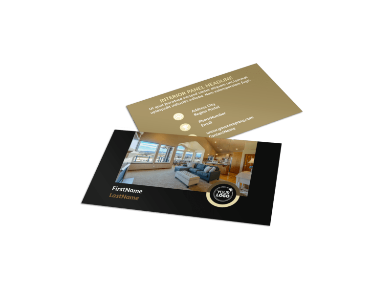 Carpet Cleaning Service Business Card Template Preview 1