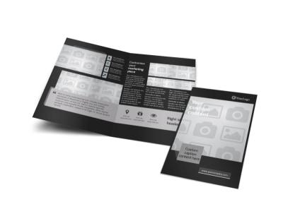 Generic Bi-Fold Brochure Template 9283