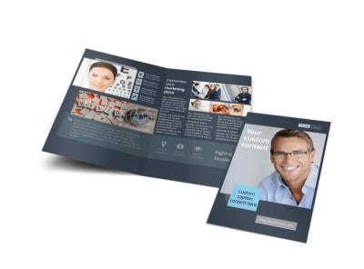 Vision care Bi-Fold Brochure Template