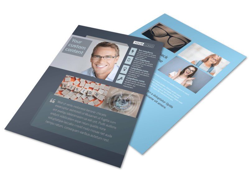 Vision care Flyer Template