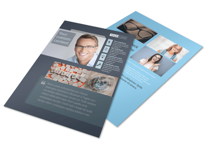 Vision care Flyer Template Preview 1