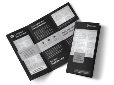 Generic Tri-Fold Brochure Template 9285