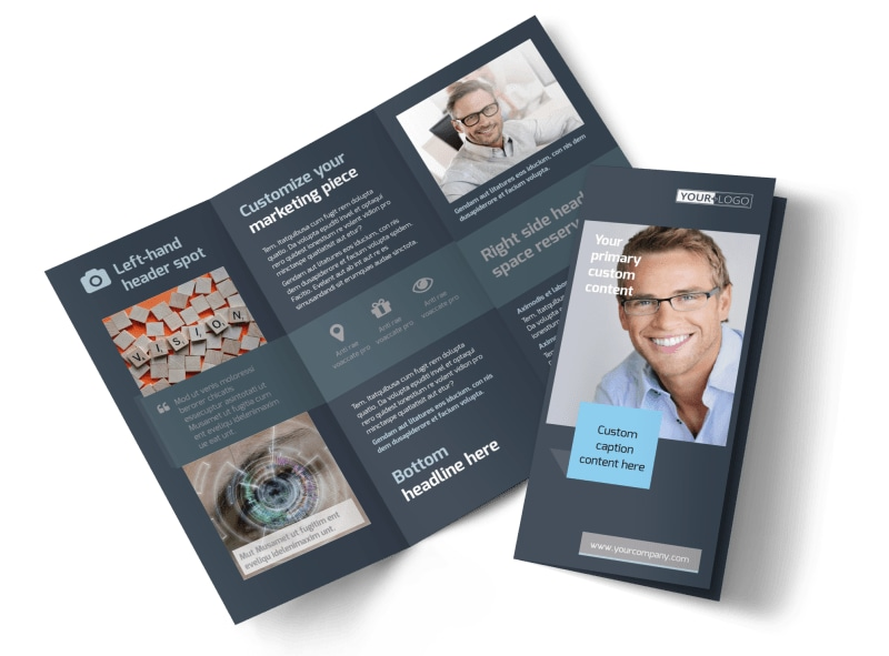 Vision care Brochure Template Preview 4