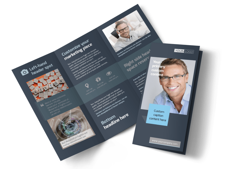 Vision care Brochure Template Preview 1