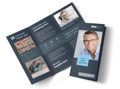 Vision care Tri-Fold Brochure Template