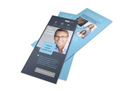 Vision care Flyer Template 2
