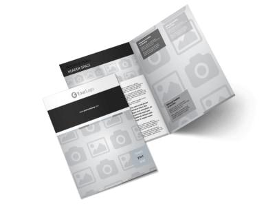 Generic Bi-Fold Brochure Template 9288
