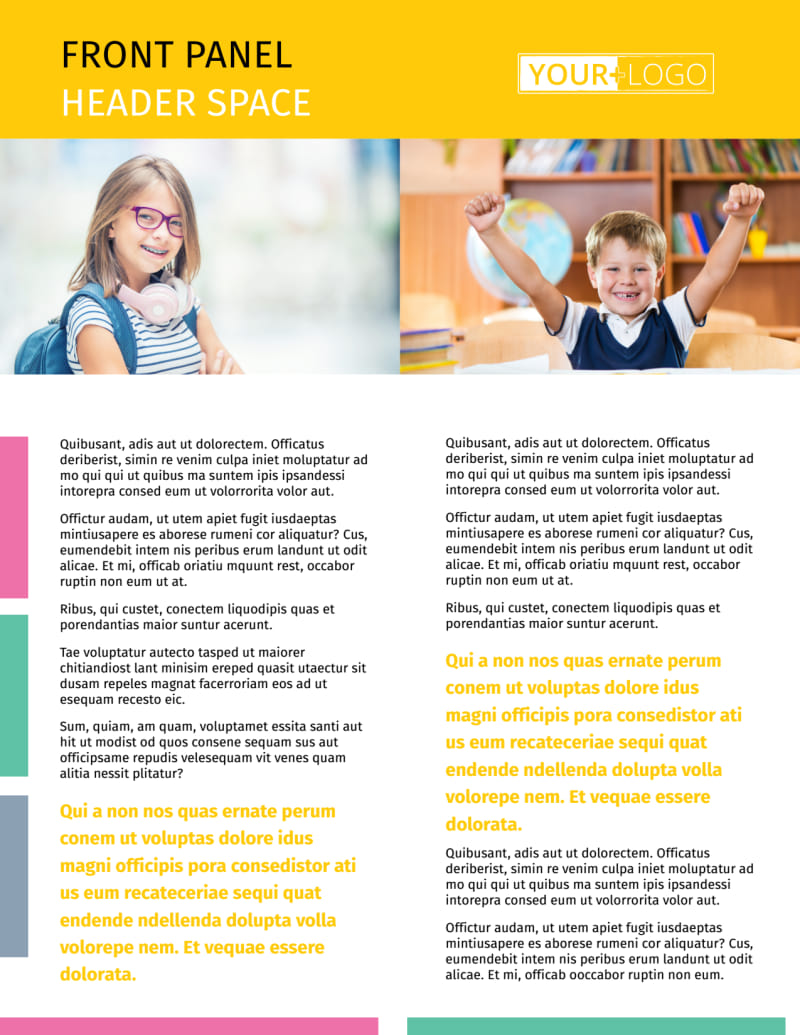 Child Education Flyer Template Preview 2