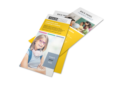 Child Education Flyer Template 2