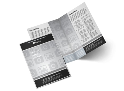 Generic Bi-Fold Brochure Template 9297