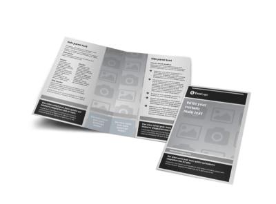 Generic Bi-Fold Brochure Template 9301