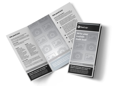 Generic Tri-Fold Brochure Template 9303