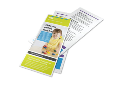 Affordable Daycare Flyer Template 2