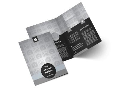 Generic Bi-Fold Brochure Template 9306